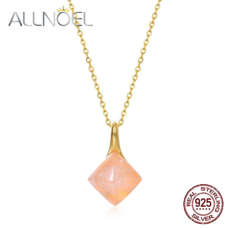 Женский-кулон-allnoel-из-стерлингового-серебра-925-пробы-с-натуральным-цветком-позолоченное-ожерелье-из-розового-кварца-Подарок-на-годовщину