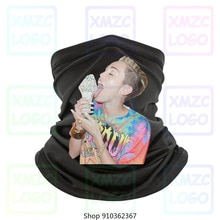 Miley Cyrus Lick Ice Cream Bella Canvas Banana Tongue Bangerz Polo Bandana Tee Новый ободок, шарф, бандана, для женщин и мужчин
