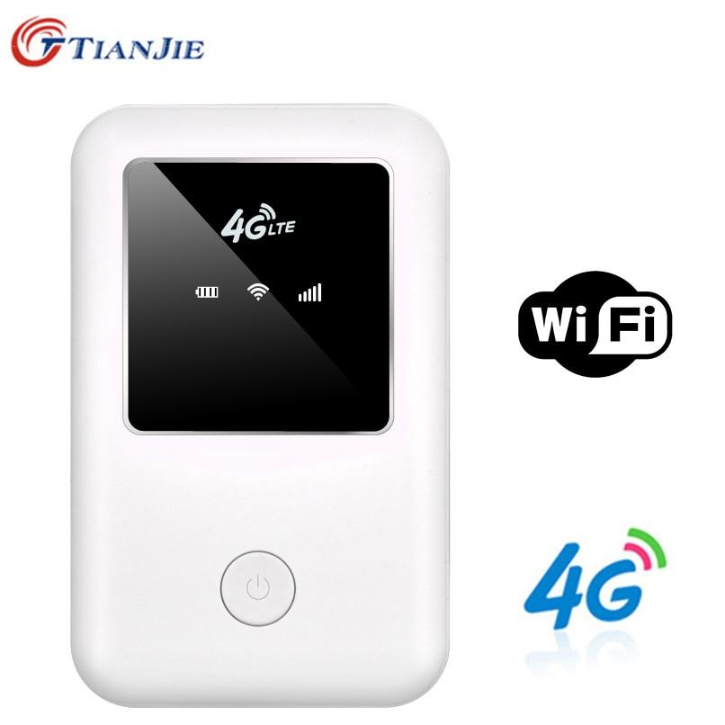 4G LTE Wifi роутер 150mbps мобильный беспроводной точка доступа автомобильный Mifi разблокировка Модем Широкополосный ключ 3G 4G Wi-Fi роутер с слотом дл...