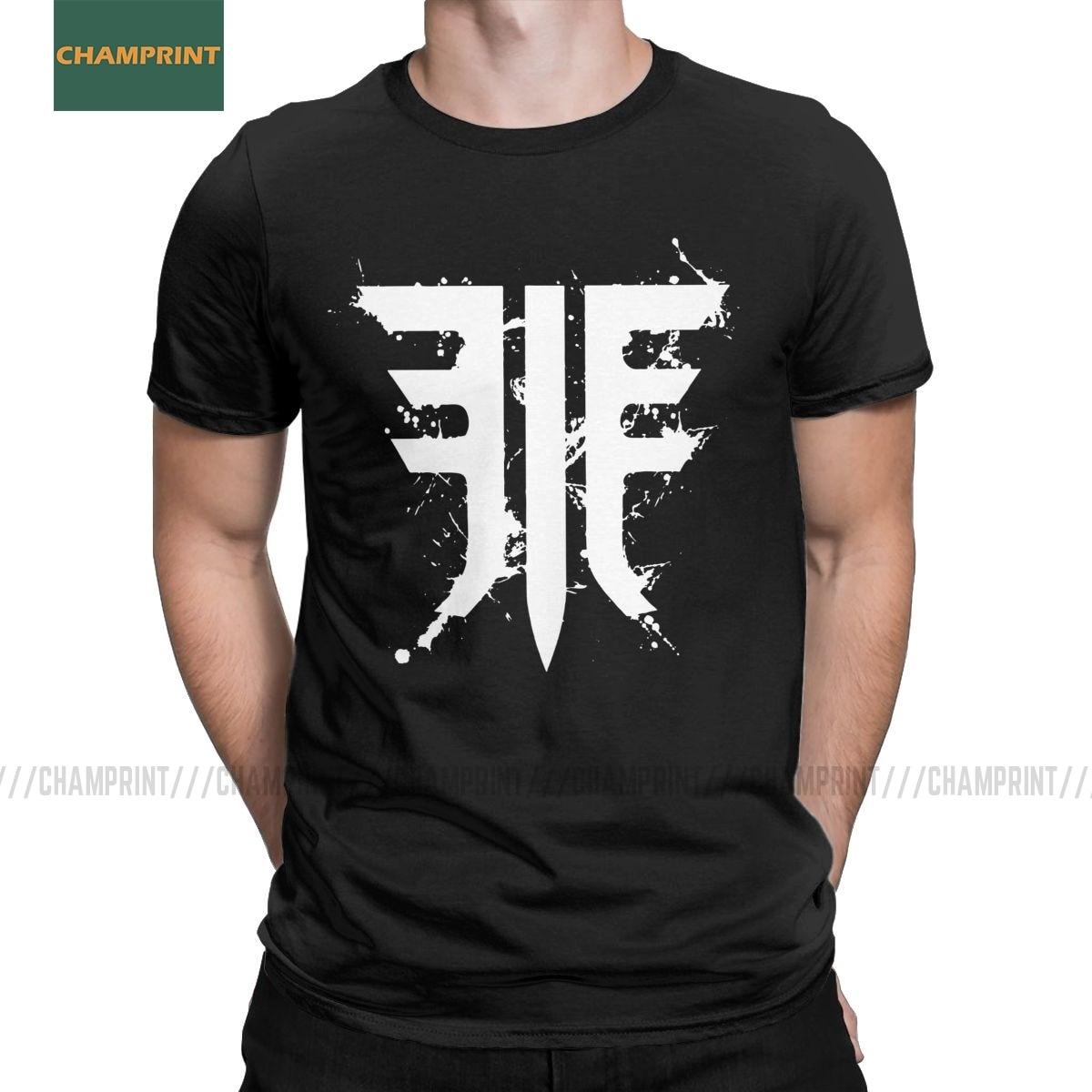 Destiny 2 T Shirts Forsaken Emblem T-Shirt for Men Ace Spades Cayde Cayde 6 Game Amazing Pure Cotton Tee Shirt Short Sleeve