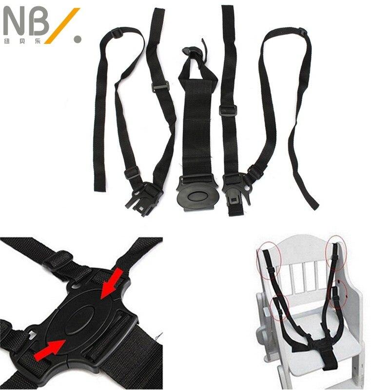 Oferta especial, accesorios de cochecito de bebé, cochecito de bebé, silla de paseo, correa de seguridad de nailon de 5 puntos para niños, seguridad infantil