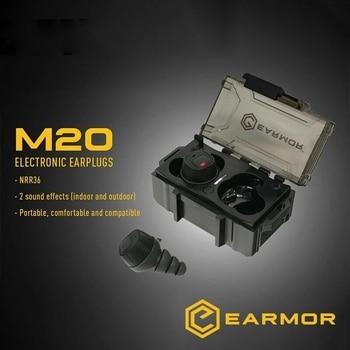 OPSMEN Earmor NEW ITEM Tactical Communication Pickup Noise Reduction headphones earplugs M20 Beta Electronic Earplug Black