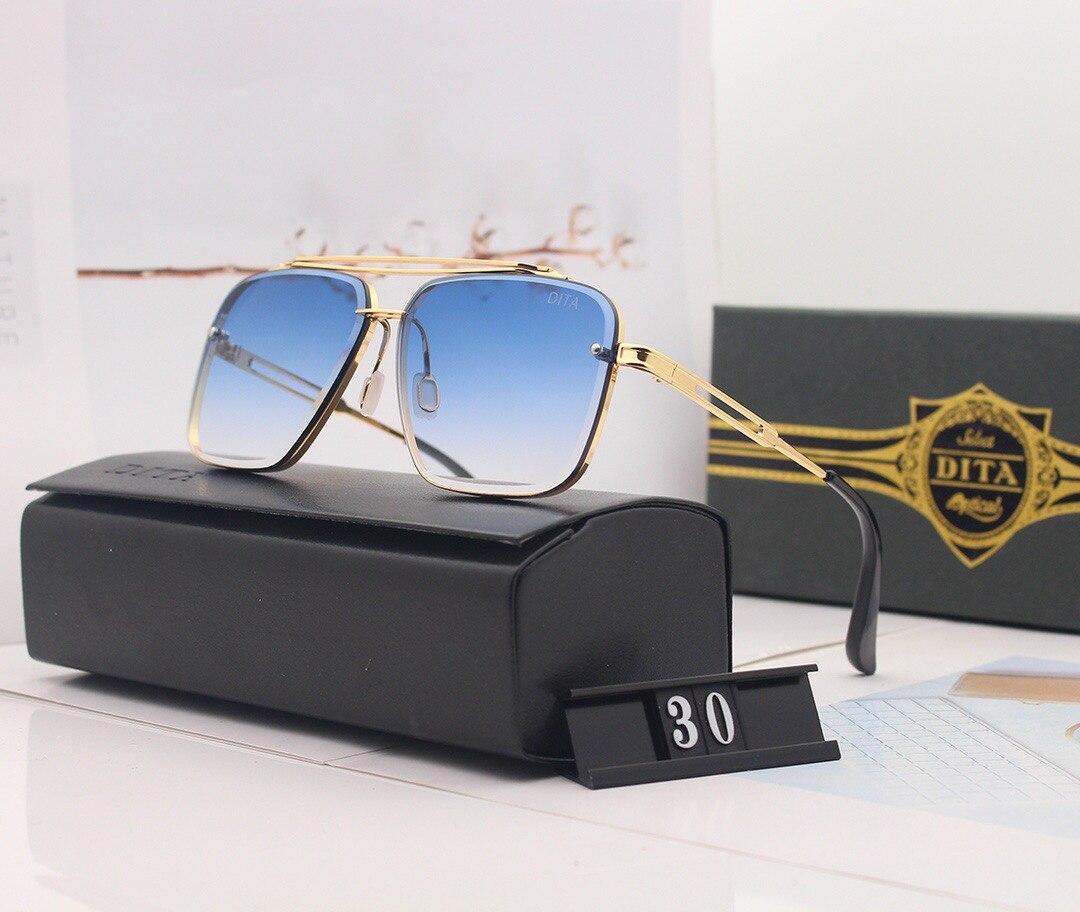DITA Men Luxury Brand Top Women Sun Glasses Male Female Sunglasses For Fashion Couple Glasses 30