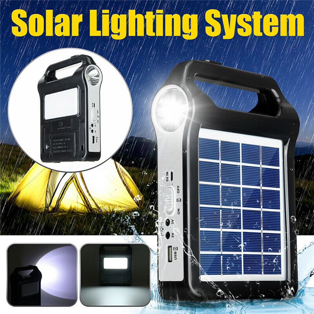 Порт в состоянии солнечная панель генераторная система USB порт встроенный осветительный светильник SDF-SHIP