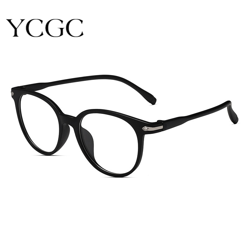 Women Glasses Frame Cat Eyes Men Round Classic Black Eye Reading Glass Anti Blue High Quality Comput