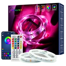 LED Light Strips WIFI RGB 5050 Work With Alexa Google Assistant Phone APP DIY Color 24V TV Computer