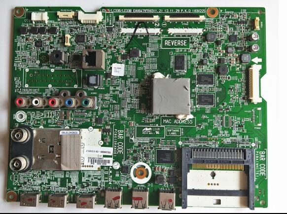 اختبار جيد ل 47LA640S اللوحة EAX64797003 اللوحة الرئيسية EBT62345903 47LA6800 LC470EUG