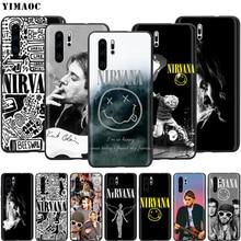 YIMAOC Nirvana Kurt Cobain étui pour huawei Mate 10 P8 P9 P10 P20 Lite Pro P Y7 Y9 Smart Mini 2017 2018