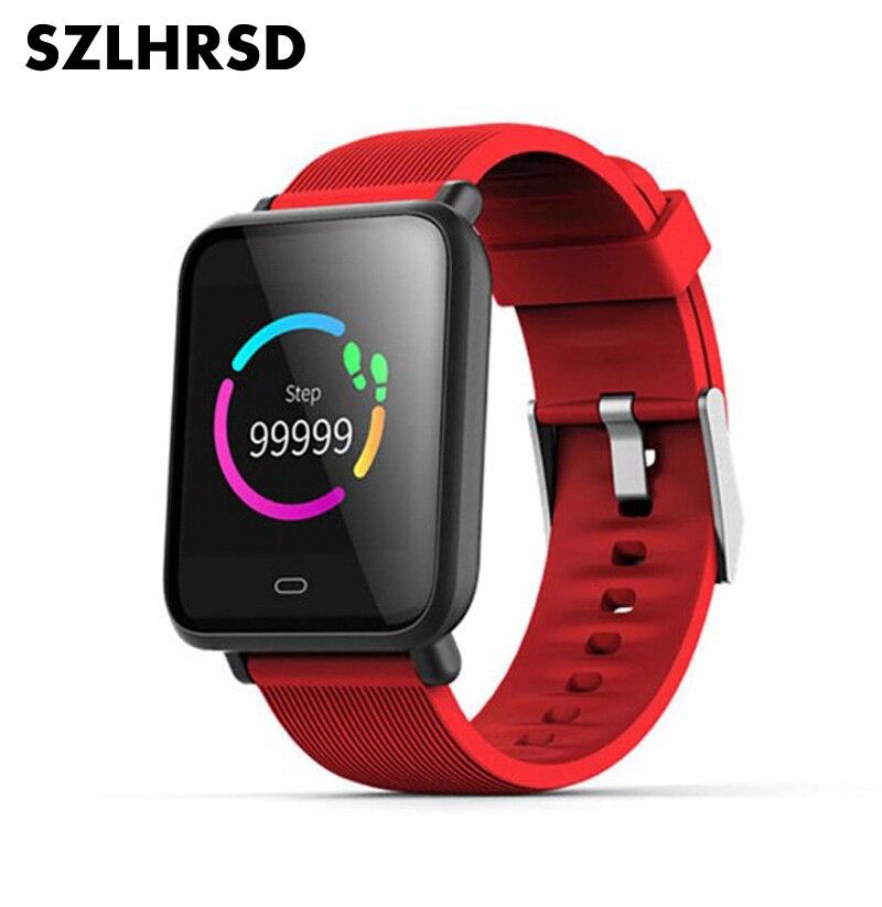 Para xiaomi pocofone f1 redmi 6a redmi nota 6 pro redmi 5 mais relógio masculino feminino esporte relógio inteligente pressão arterial freqüência cardíaca