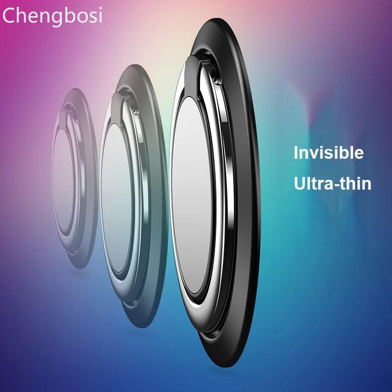 Titular do telefone do dedo magnético fica círculo grip smartphones para iphone 7 xiaomi mi8 5 plus celular celular anel titular stands