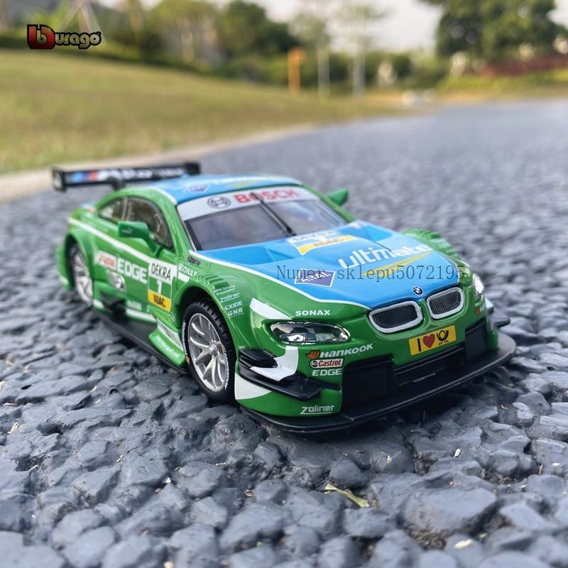 Bburago 132 BMW M3 DTM NO.7 WRC rally coche modelo coche de simulación de aleación de metal modelo recoger regalos juguete