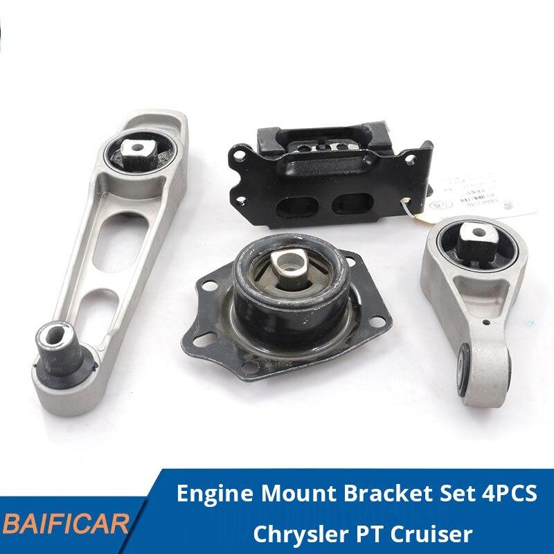 Baificar العلامة التجارية الجديدة حامل المحرك قوس مجموعة 4 قطعة لكرايسلر PT كروزر