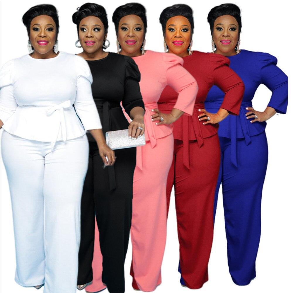 الصلبة طويلة فستان أطفال مع سروال داخلي أنيق السراويل الدعاوى للنساء 2021 مكتب رسمي قطرة الشحن