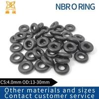 rubber ring black nbr sealing o ring cs4 0mm od13141516171819202122232447485055mm o ring seal gasket ring washe