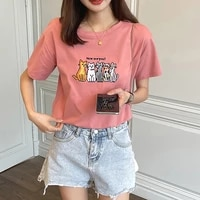 bethquenoy poleras mujer camisetas cotton tee shirt femme yellow tshirts woman clothes 2021 summer tops plus size women t shirt