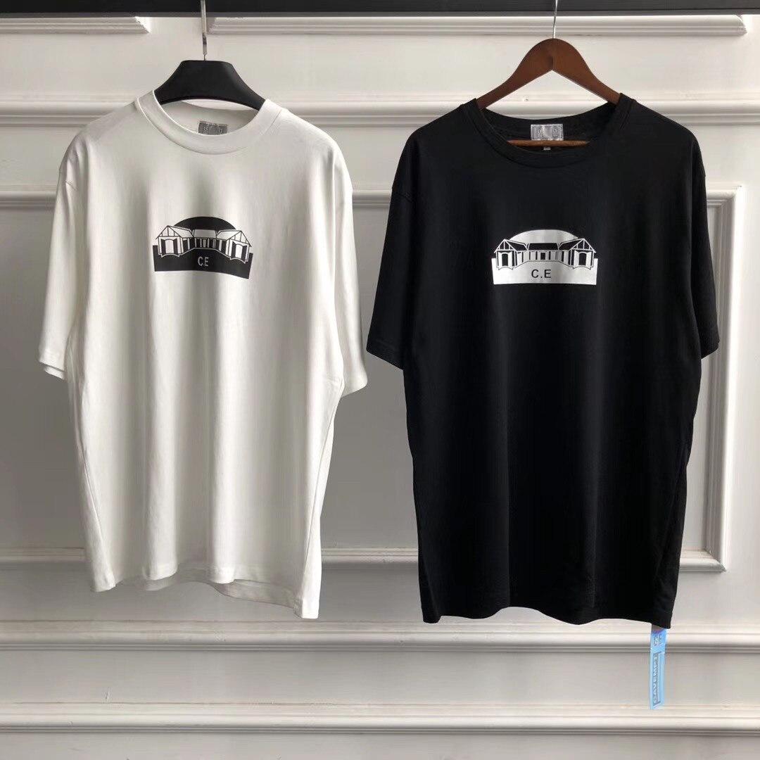 Best Version CAVEMPT C.E 20ss PATH T Shirt Men Women Couples Basic Tops Tees C.E Cav Empt T-Shirt Men