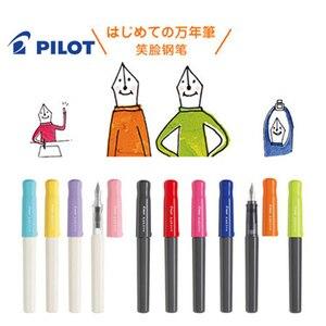 1pcs Japan PILOT fountain pen Smile pen KaKuno Wannian student pen Practice calligraphy pen FKA-1SR Ink con-50