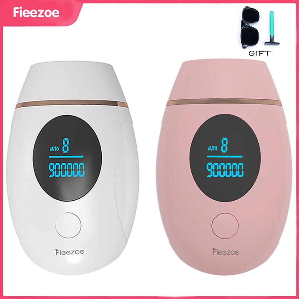 FIEEZOE Laser Epilator 900000 Flash IPL Hair Removal Laser Permanent Epilator For Women Painless Photoepilator Depiladora Facial
