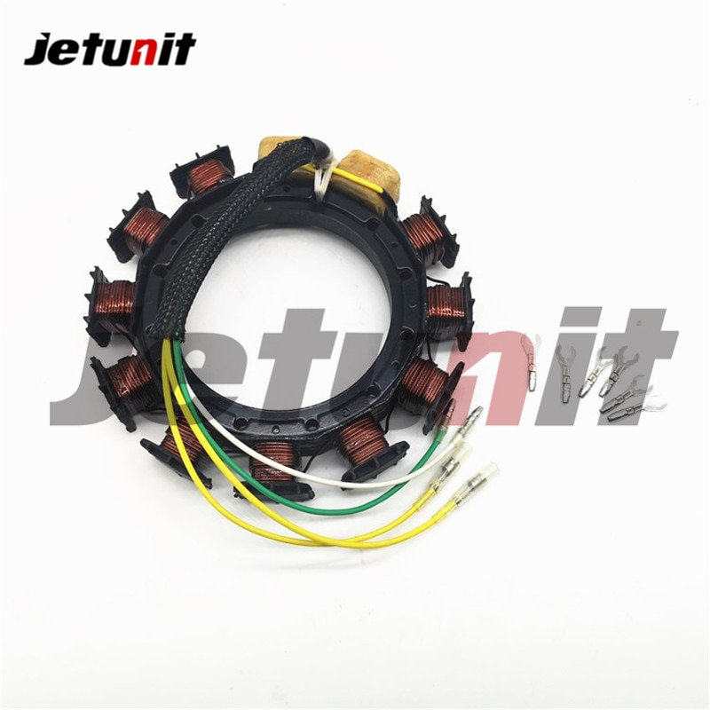 Outboard Stator For Mercury 2,3,4cyl 30-125HP  398-832075A21, 398-832075T18, 398-9873A19, 398-9873A22, 398-9873A28, 9-25507 enlarge