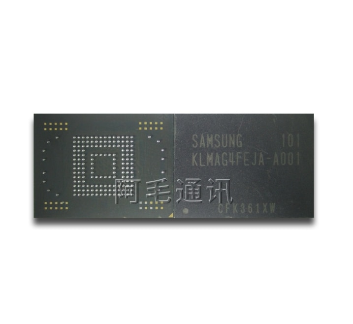 Mxy 100% جديد الأصلي KLMAG4FEJA-A001 N8000 16 GB KLMAG4FEJA A001 16 GB EMMC ذاكرة المعالج رقاقة