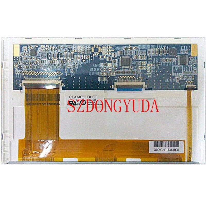 Original A+ 7inch 800*480 CLAA070LC0JCT LCD Screen Display Panel