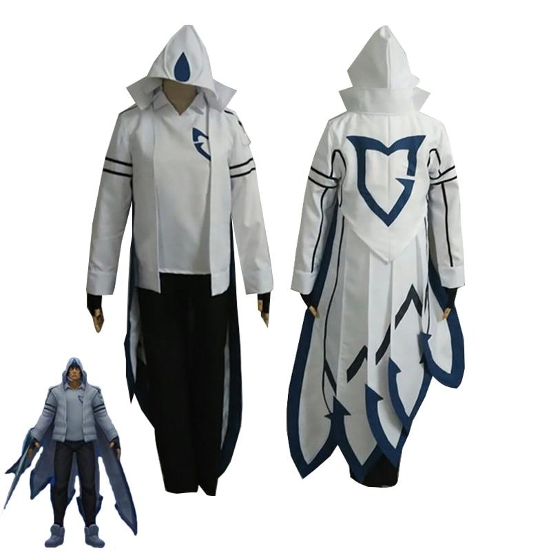 Juego LOL Cosplay Talon The Blades Shadow Cosplay disfraz SSW superior + Pantalones + Camiseta + guantes Halloween uniformes para carnaval hechos a medida