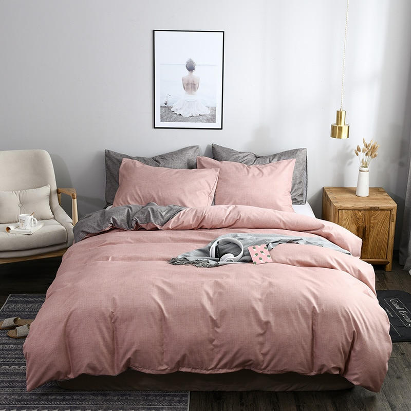 hot sell quilt cover bedclothes bedding set double layer blanket simple fashion crystal thicken velvet quilt cover home supplies Solid Color Duvet Cover Set Simple Home Decor Bedding Set Pillowcase Quilt Cover Simple Comfortable Comforter Cover Queen King