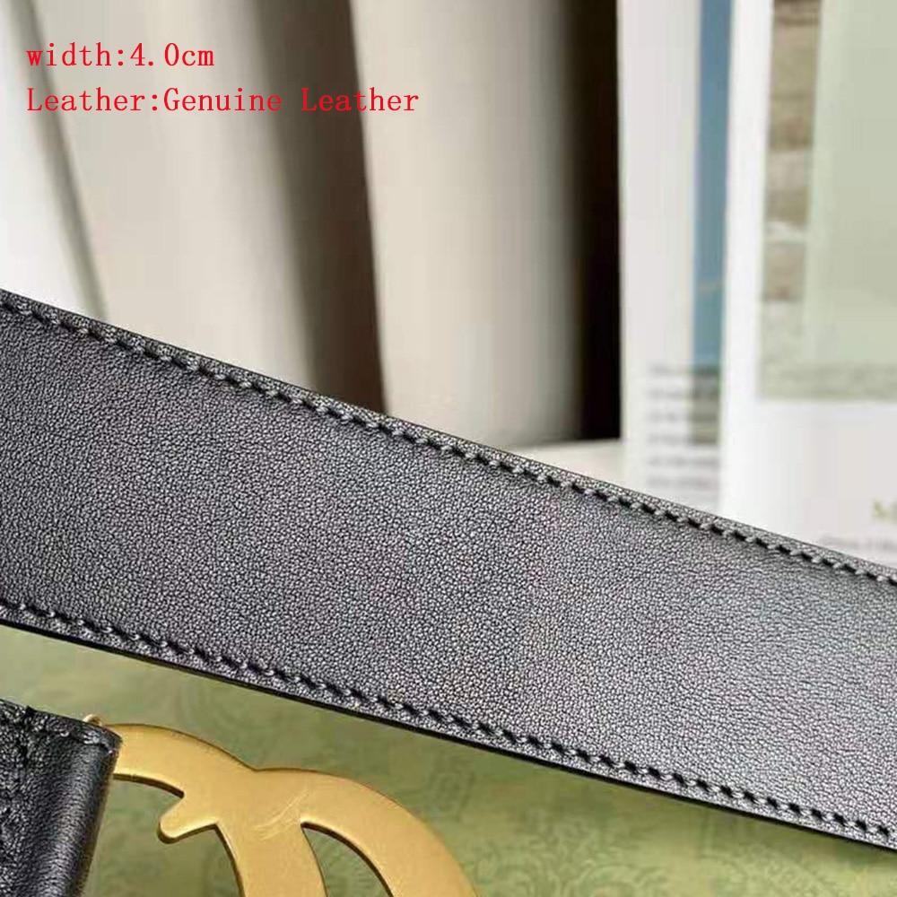 For men Belt Jeans Luxury Brand Designer Classic Double G 1:1 Copy Belts High Quality Original Packa