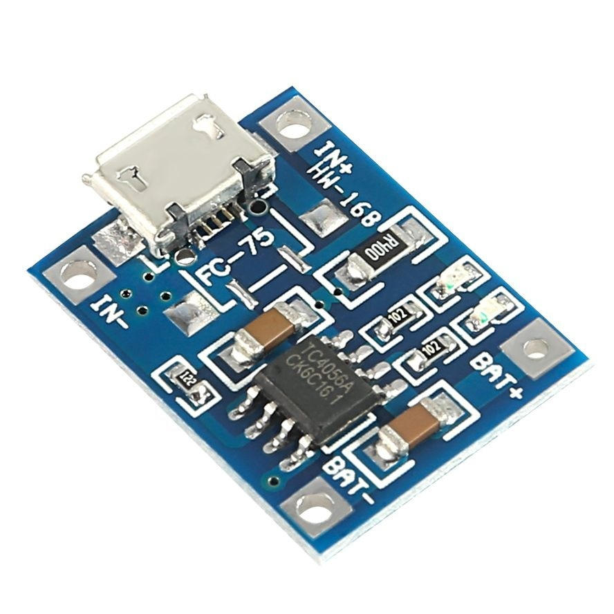Фото - 5pcs/lot Micro USB 5V 1A 18650 TP4056 Lithium Battery Charger Module Charging Board With Protection Dual Functions 1A Li-ion 10pcs 5v 1a type c usb 18650 lithium battery charging board charger module protection dual functions tp4056 module charging