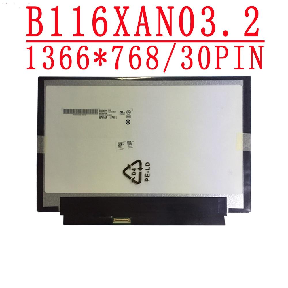 B116XAN03.2 pantalla led lcd para portátil de 11,6 pulgadas EDP de 30 Pines, pantalla ips B116XAN03.2 para Acer Aspire V5-122P v5-132p MS2377