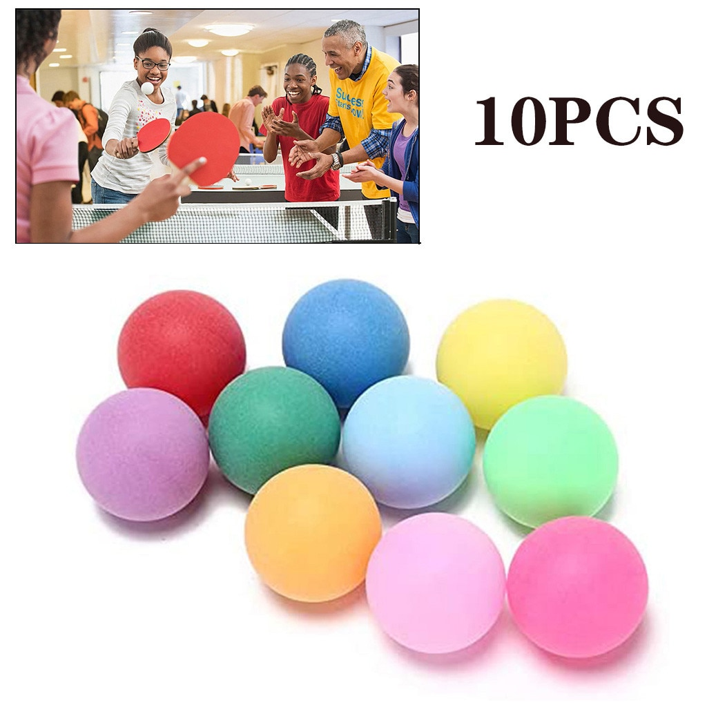 10 unids/pack de Pong pelotas 40mm entretenimiento pelotas de tenis de mesa...