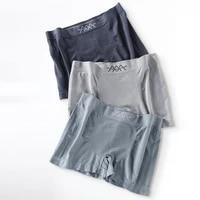 mens boxers bulge pouch underpants high elasticity comfortable elastic mid waist seamless 5d honeycomb boxershorts underwear