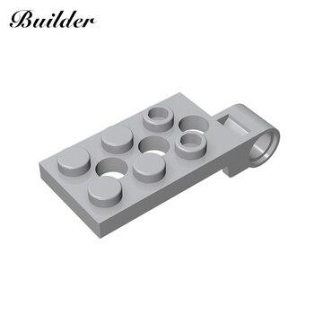 Little Builder Building Blocks Compatible Assembles Particles 2x4 For Brikcs Parts DIY Creativity Toys for Children 98286 10pcs