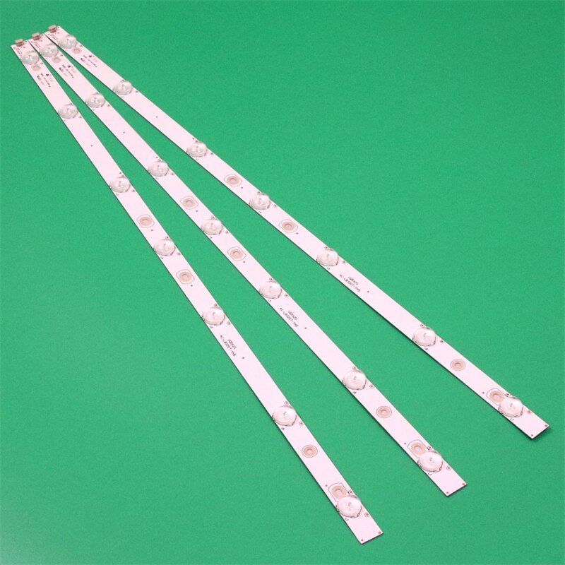 3PCS/Set 625mm NEW TV Illumination Bars Lane For Thomson T32ED13DU Backlight Strips Rule TOT 32B2500-3X7 4C-LB320T-YH5 LVM320CDX