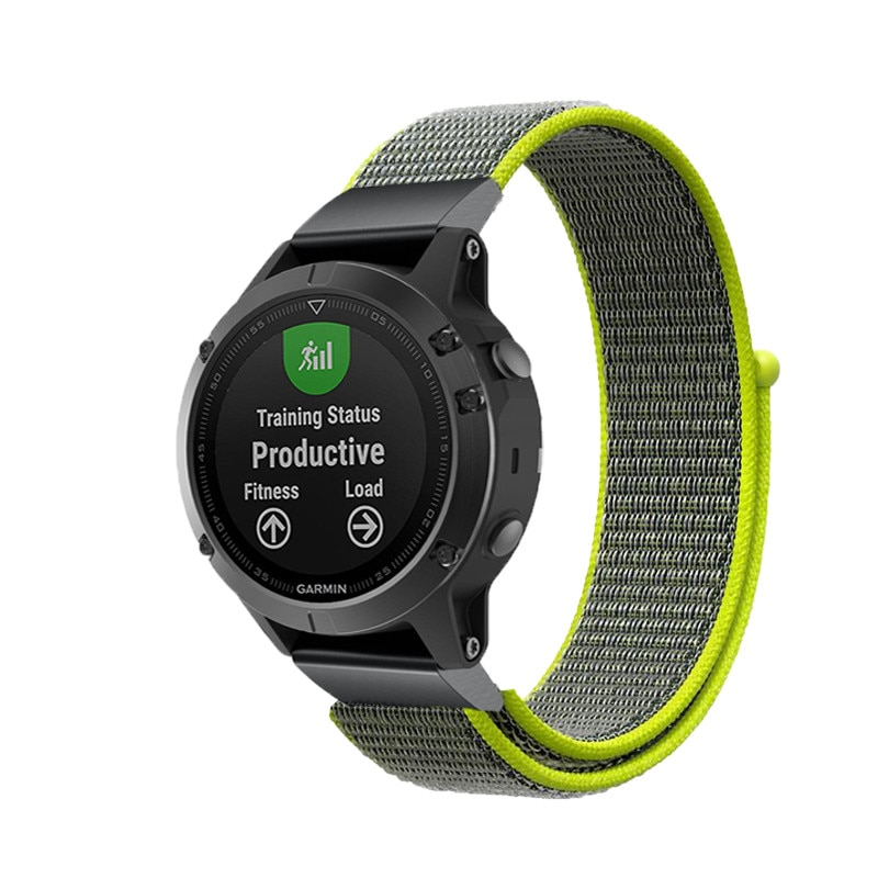 26mm 22mm Quick release Nylon Velcro Wrist Strap For Garmin Fenix 3/Fenix 3 HR/Fenix 5 5X forerunner 935 Wristband Watch strap