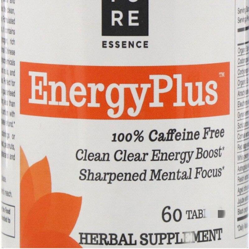 Energía energética clara aumenta la concentración mental 60 pestañas
