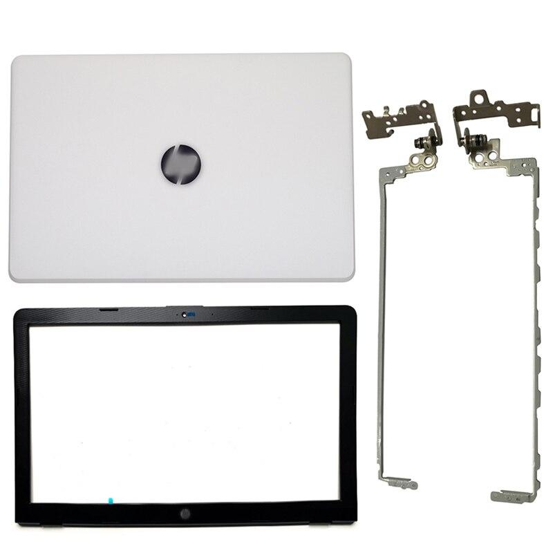 Original NEW For HP Pavilion 15-BS 15T-BS 15-BW 15Z-BW 250 G6 255 G6 Laptop LCD Back Cover/Front Bezel/Hinges 924900-001 White