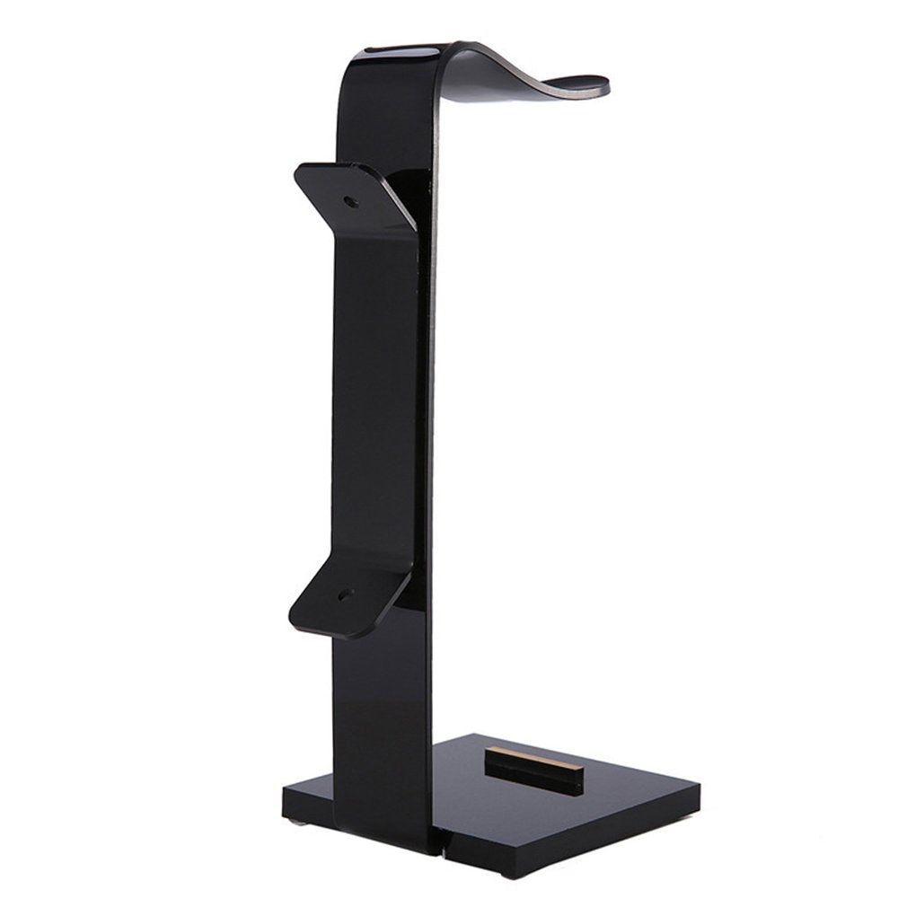 Estante auricular acrílico, soporte para escritorio de auriculares, soporte de exhibición de moda para auriculares, soporte ONLENY