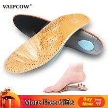 2 paia soletta plantare in pelle Premium più favorevole per solette per scarpe a piede piatto supporto arco cuscino ortopedico in corrigibillo gamba OX