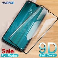 9D protectora de vidrio en El para Xiaomi Redmi 8 8A 7 7A 6 Pro 6A ir K20 Redmi Note 8 7 6 Pro templado pantalla cristal Protector de la película