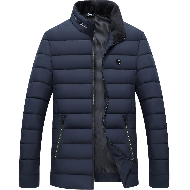 Мужская зимняя куртка из хлопка с вертикальным воротником, хлопковая куртка, мужские парки, мужская зимняя куртка с капюшоном, хлопковый ко...