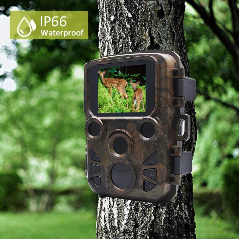 Wildlife Trail Photo Trap Mini Hunting Camera 16MP 1080P IP66 Waterproof Video Recorder Cameras For Security Fast Trigger Time