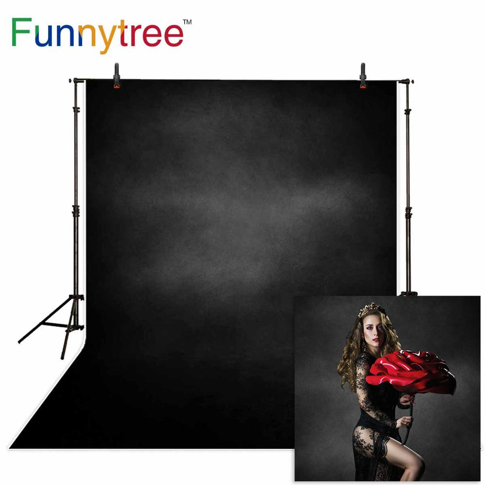 Funnytree foto de fondo color sólido gris negro viejo maestro grunge fotografía telón de fondo sesión fotográfica bebé boda photophone