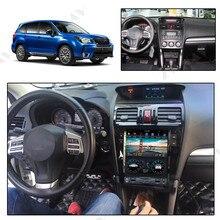 안드로이드 9.0 4 + 64G PX6 DSP Carplay Car 멀티미디어가 장착 된 수직 테슬라 스크린 Subaru Forester 2013-2018 라디오 용 DVD 플레이어 없음