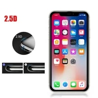 2 5d protective glass for iphone 6 7 8 plus xr x xs glass full cover iphone 11 12 pro max hd screen protector tempered glass
