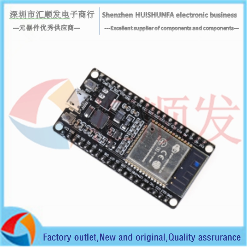 38P!!! ESP32 ESP-32 Development Board Wireless WiFi Bluetooth Dual Core CP2104 Filters Power Management Module 2.4GHz Newest