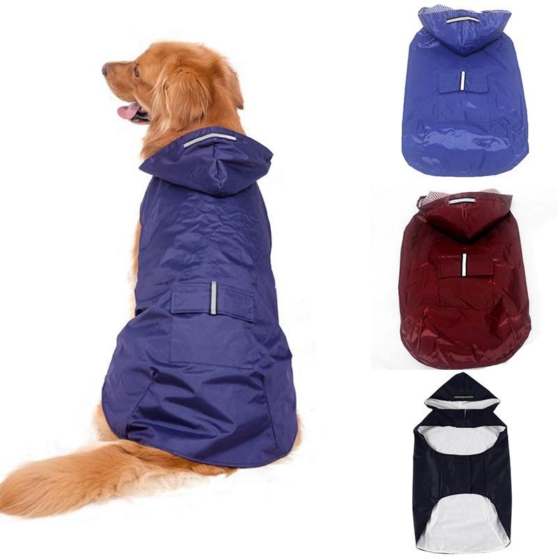 Pet reflectante superimpermeable impermeable con capucha resistente al desgaste, no deforme Pet...