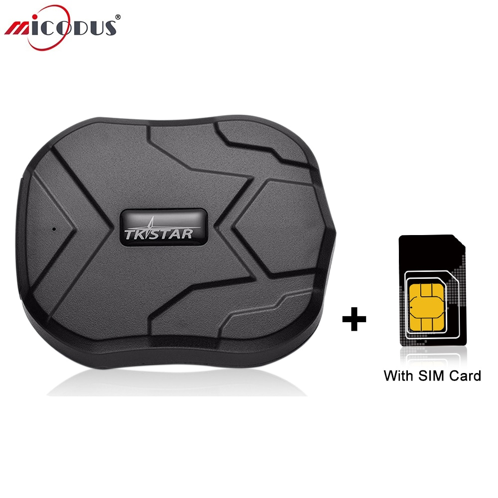 2G Car Tracker Magnet GPS Tracker with SIM Card Tkstar TK905 Built-in Battery 5000mAh Car Locator Realtime Track Voice Monitor