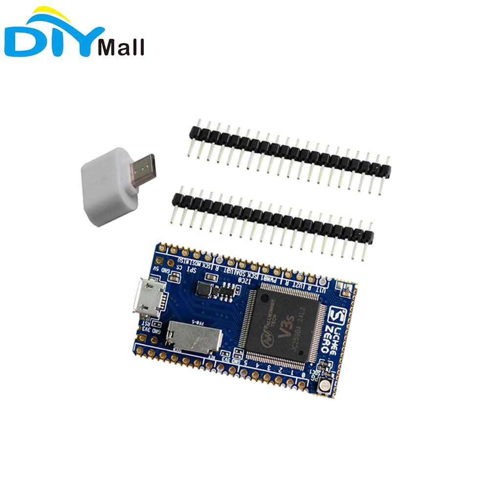 DIYmall Sipeed Lichee Pi Zero Allwinner V3S brazo Cortex-A7 Core CPU Linux Placa de desarrollo IOT, Internet de las cosas