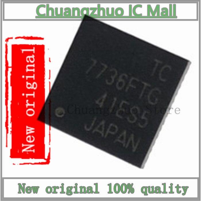 1 unids/lote TC7736FTG QFN-48 TC7736FT QFN48 TC7736F TC7736 7736FTG 7736 SMD IC Chip original nuevo